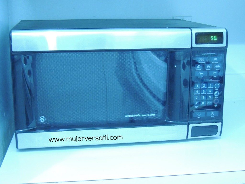 Cocinar en microondas generalidades for Cocinar en microondas