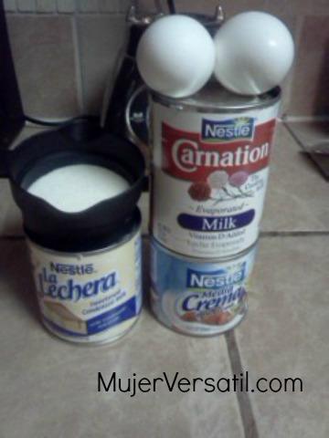 Receta de flan casero for Ingredientes para hacer flan casero