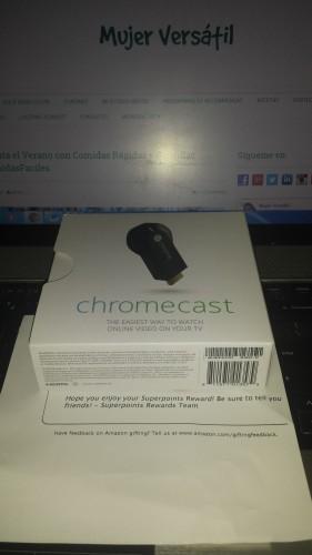 Google Chromecast HDMI Streaming Media Player $49.99