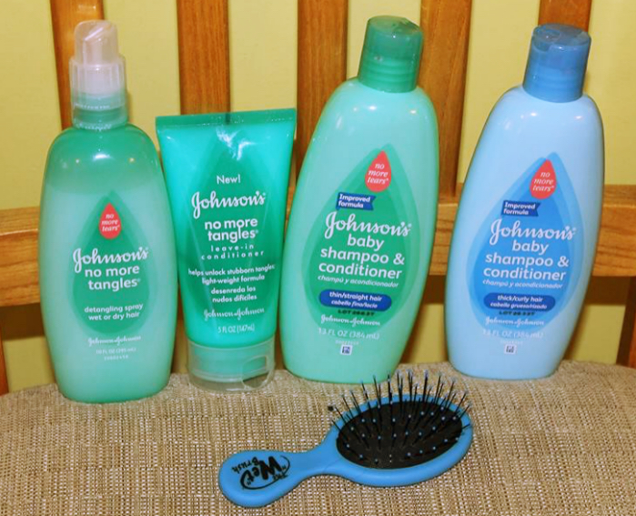 JOHNSON'S® NO MORE TANGLES®