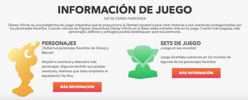 Información Disney Infiniti