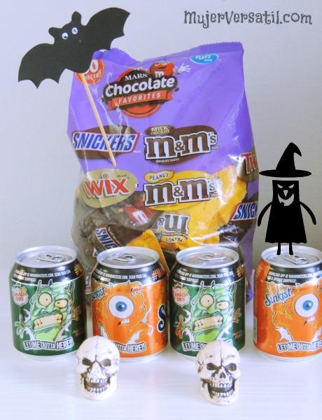 Dulces y Bebidas para Halloween