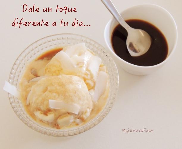 Helado con Café